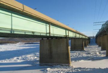 Athabasca Bridge – Block Fabrication & Post Tension