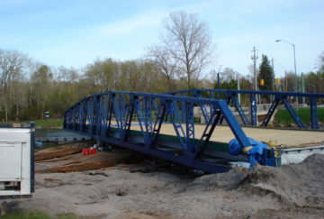 Carrying Place Swing Bridge